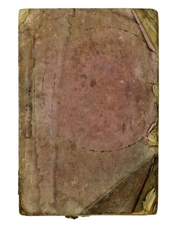 Vecchia carta su sfondo bianco Archivio Fotografico - 14934232