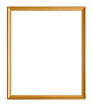 Alte Bilderrahmen auf wei?em Hintergrund Standard-Bild - 20885821
