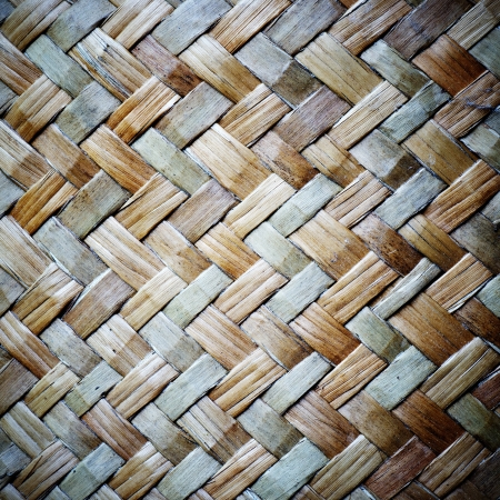 yellowish: Wood weave for background.