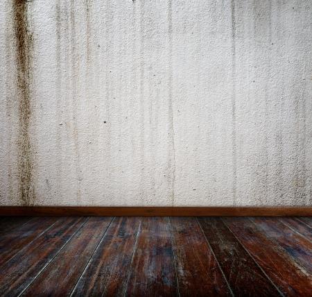 Interior grunge room. photo