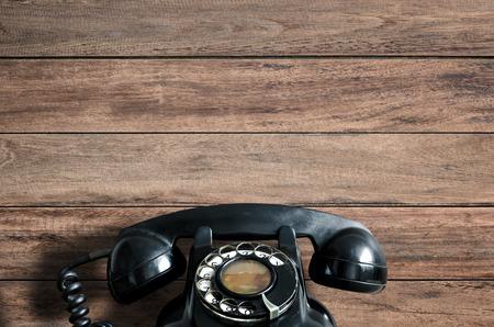 Oude telefoon. Stockfoto