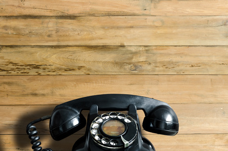phone talking: Old telephone.