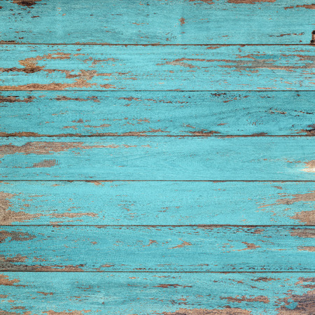 wood floor: Vintage wood background with peeling paint. Stock Photo