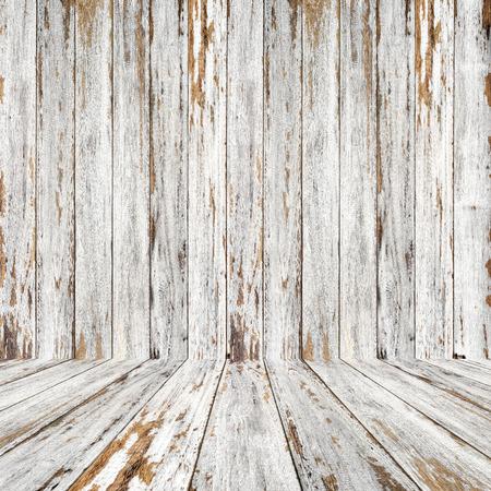 peeling paint: Vintage wood room with peeling paint.