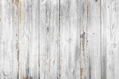 Vintage background di legno con peeling vernice., colore bianco.