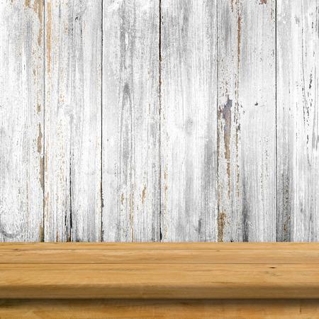old desk: Old wood desk in wood wall room.