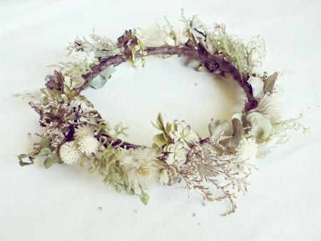 fiori secchi: Fiori secchi corona