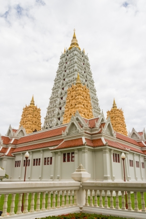 under clouds sky thai bodhgaya in pattaya area photo