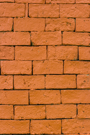 bricklaying: background of construction brick pattern Stock Photo