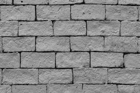 background of construction monotone brick pattern