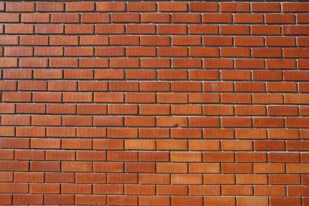 Red Bricked Wall Stock Photo - 2712096