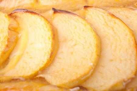 Closeup shot of an apple pie Stock Photo - 12959418