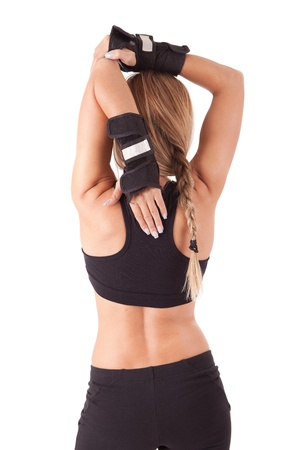 Young woman in great shape - fitness concept Stock Photo - 13353156