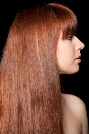 Beautiful Woman with Healthy Long Hair Stock Photo - 14750561
