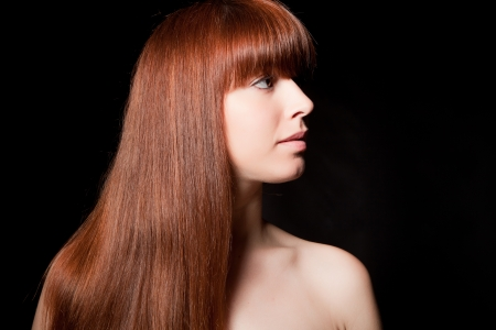 Beautiful Woman with Healthy Long Hair Stock Photo - 14750349