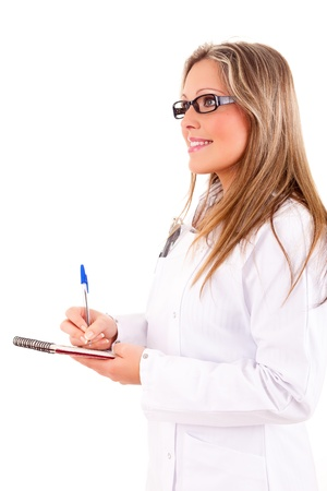 sucessful: Young and sucessful medic posing