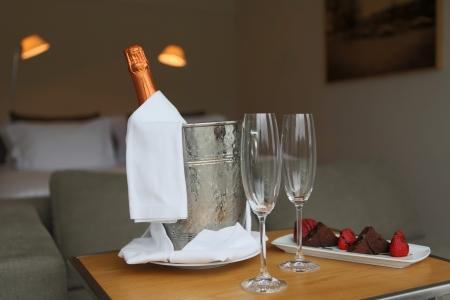 hotel suite: Hotel room shot - Honeymoon concept
