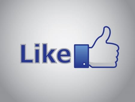 liked: like, thumb up grey background