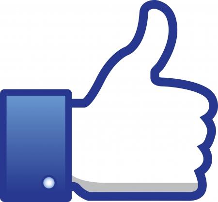 liked: like, thumb up