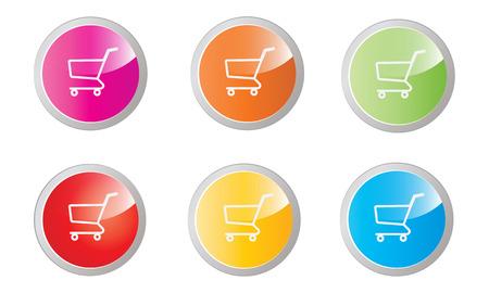shopping cart buttons