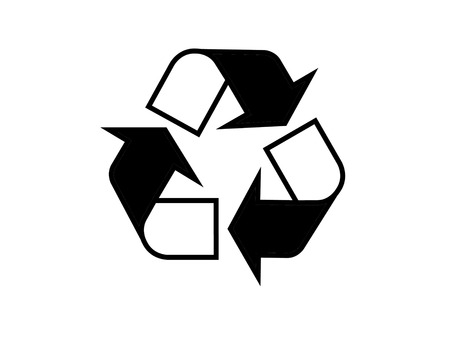 logo recyclage: logo de recyclage