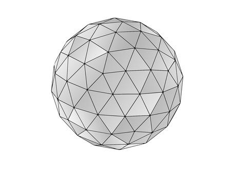 geodesic sphere Foto de archivo