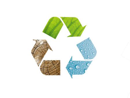 logo recyclage: le recyclage logo