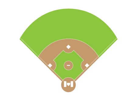 Baseball field overview