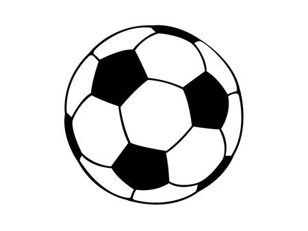 soccerball Ilustración de vector