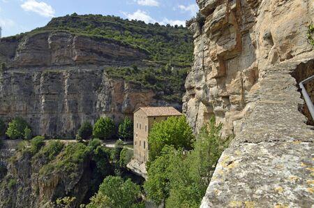 Monestir de Sant Miquel del Fui, historic house in the mountains
