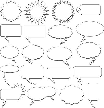 speech bubble collection Stock Vector - 8626720