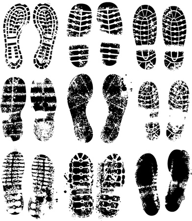 id theft: Foot prints
