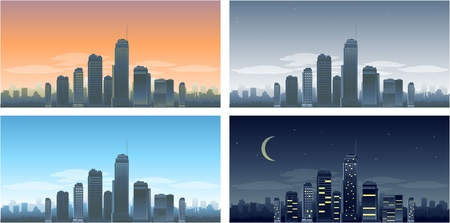 new york night: Days steps