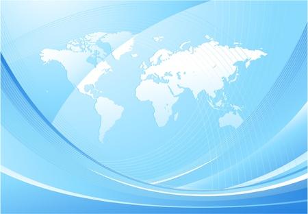 equator: Vector world map design