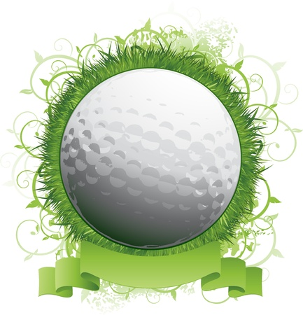 Golf logo emblem Stock Vector - 8634138