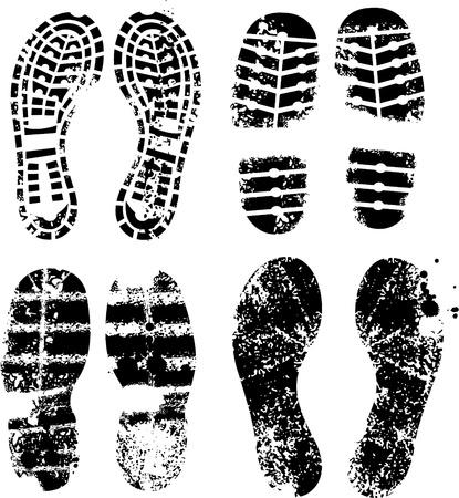 Foot prints Stock Vector - 8630344