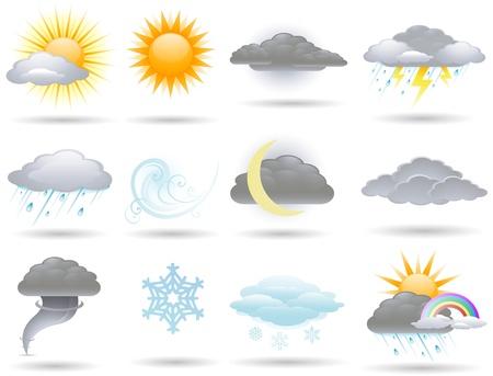 meteo: Icone del tempo