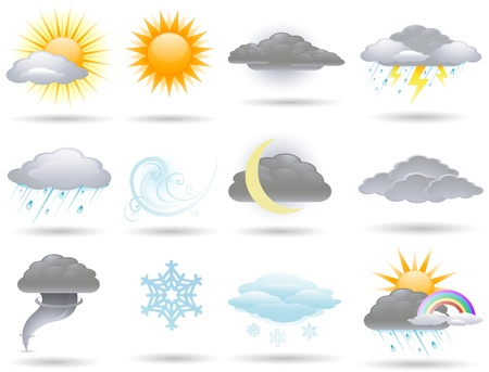 icon: Weather icons Illustration