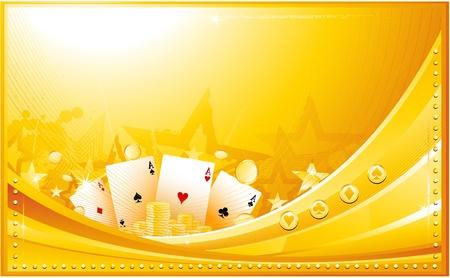 Casino-Hintergrund Vektorgrafik