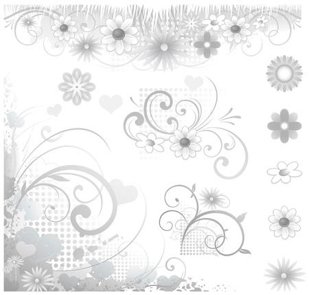 Bruiloft uitnodiging symbolen en elementen