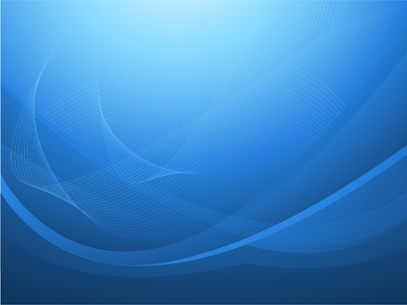 business: blue abstract background