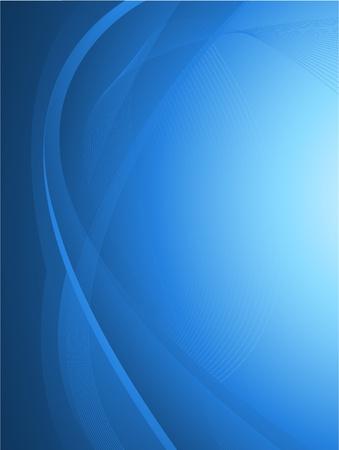 blauwe abstract ontwerp