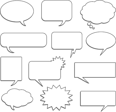 thought: speech bubbles