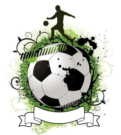 soccer stadium crowd: soccer ball design