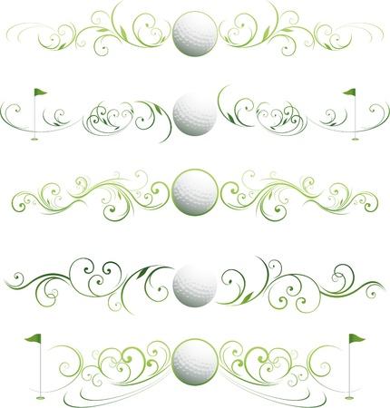 golf design ornament
