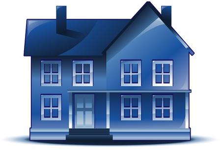 casa logo: Immobiliare casa logo Vettoriali
