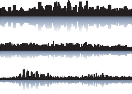 Vector cityscapes