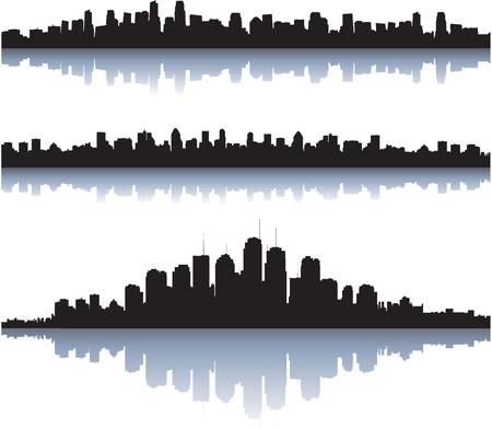 city skylines  イラスト・ベクター素材