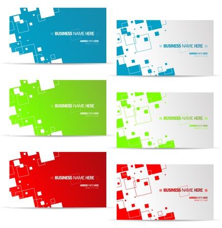 graphid デザインのビジネス カードの概念  イラスト・ベクター素材