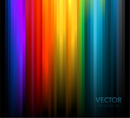Abstract rainbow colours background.  Çizim